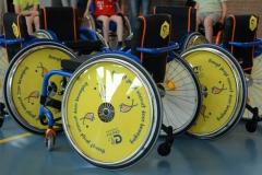 Nieuwe JCF sportrolstoelen